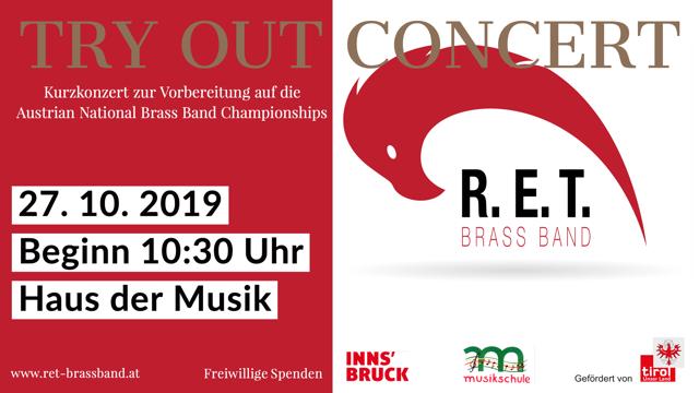 Try Out Konzert @ Haus der Musik Innsbruck